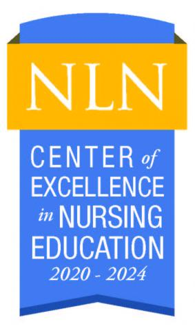Center of Excellence in Nursing Education University of Louisiana at Lafayette badge